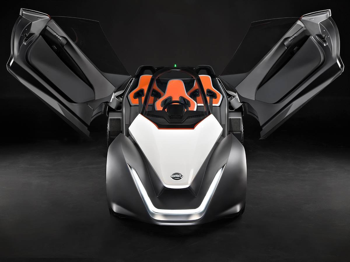 Nissan's BladeGlider concept shown off in Rio
