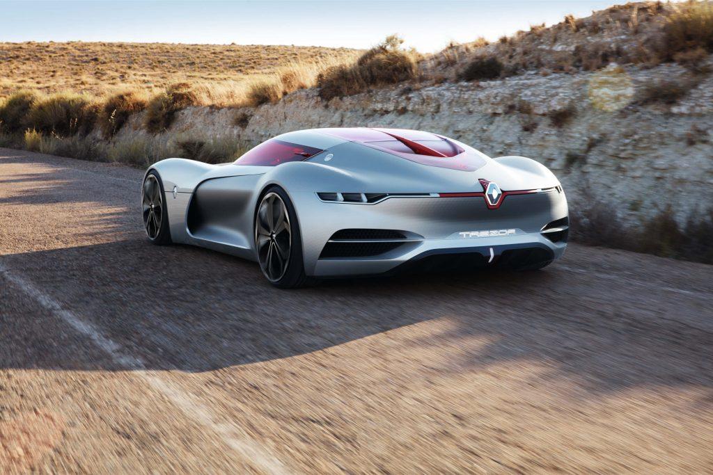 Renault Trezor concept car EV