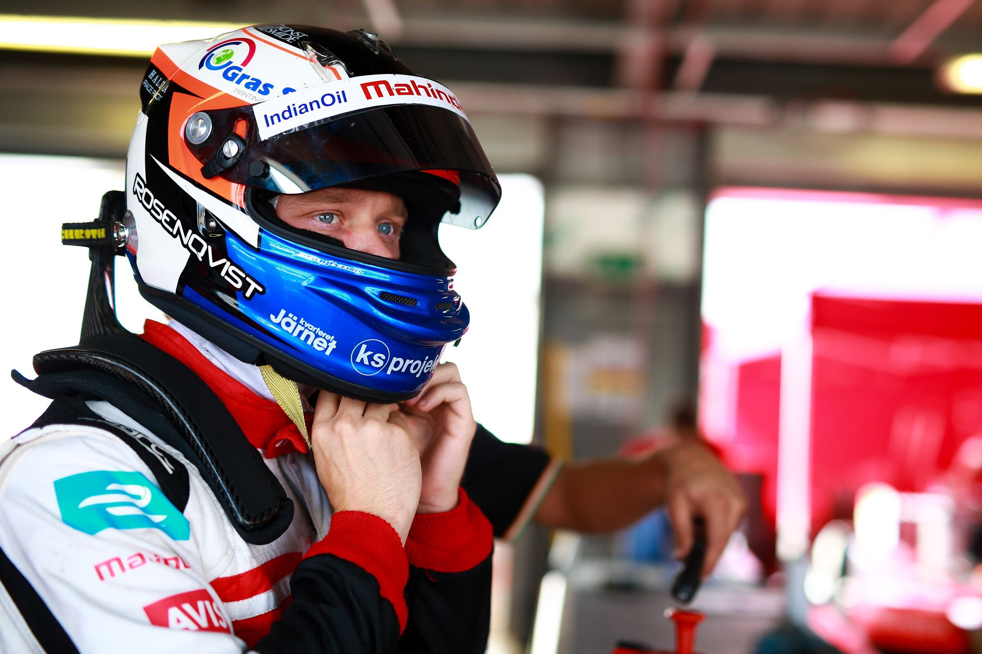 Felix Rosenqvist | Mahindra Formula E Team