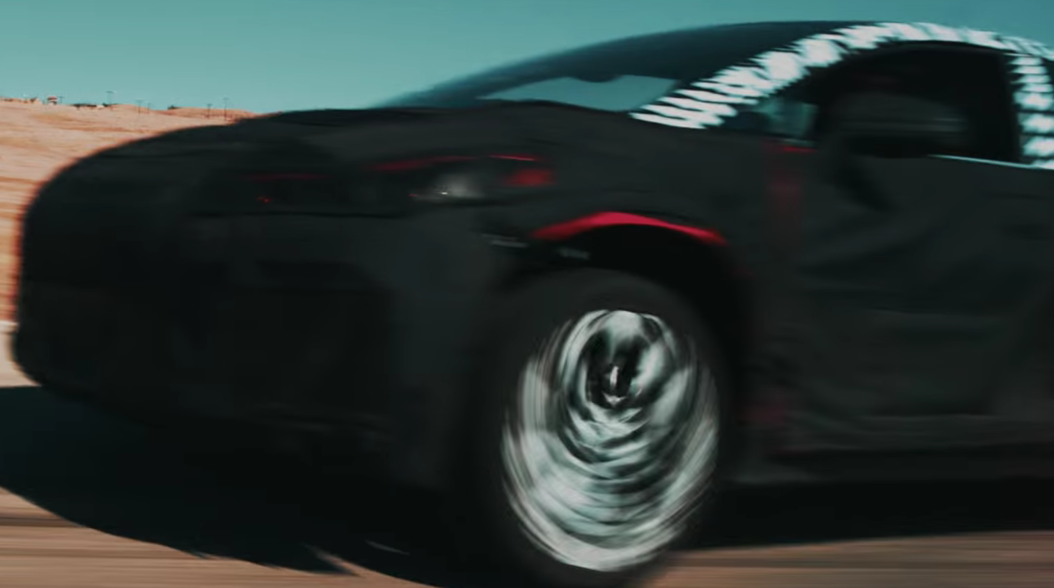 Faraday Future teases upcoming production car: video
