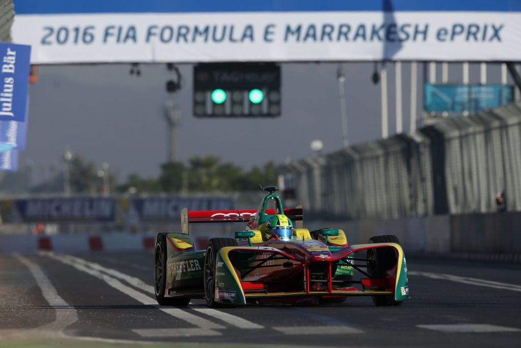 Lucas di Grassi Abt Formula E Marrakesh