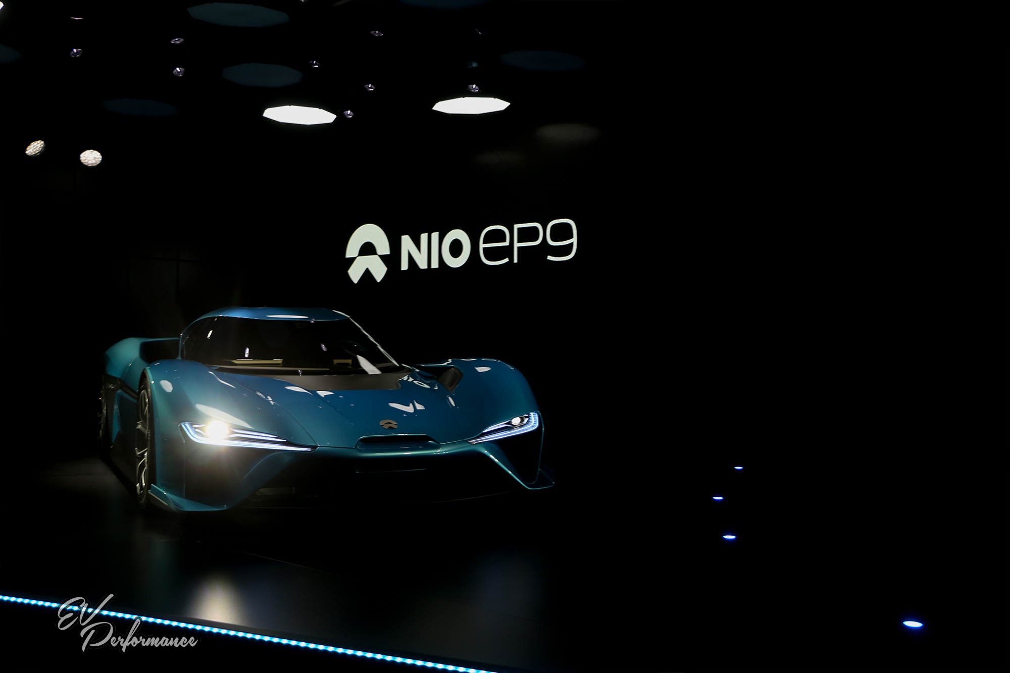 NIO EP9 electric car supercar