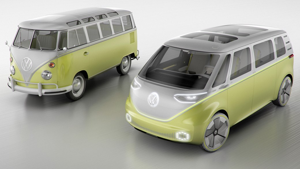 VW I.D. BUZZ concept NAIAS Detroit 2017