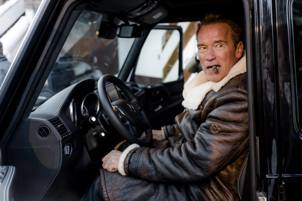 Kreisel Electric G Class Arnold Schwarzenegger