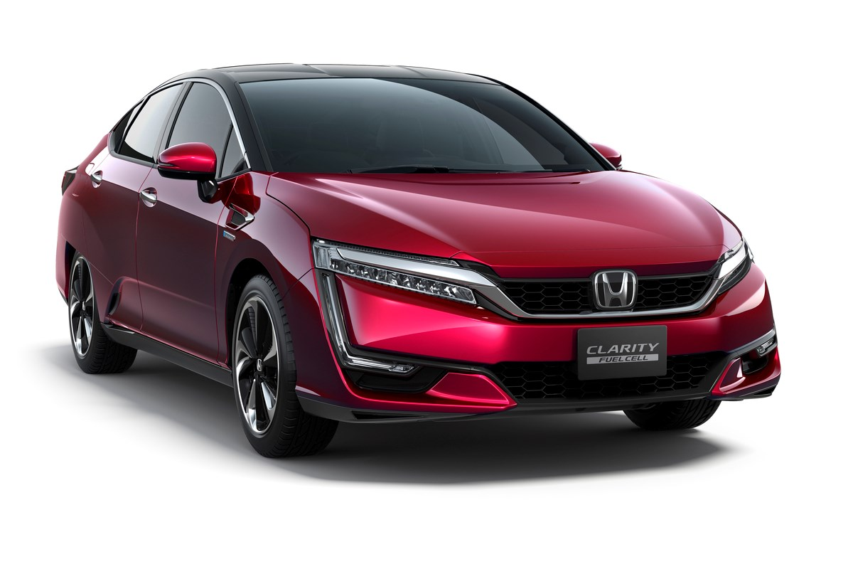Honda Clarity Fuel Cell hydrogen