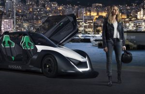 Margot Robbie Nissan Bladeglider electric vehicle ambassador