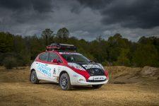 Chris Ramsey Nissan Leaf Mongol Rally