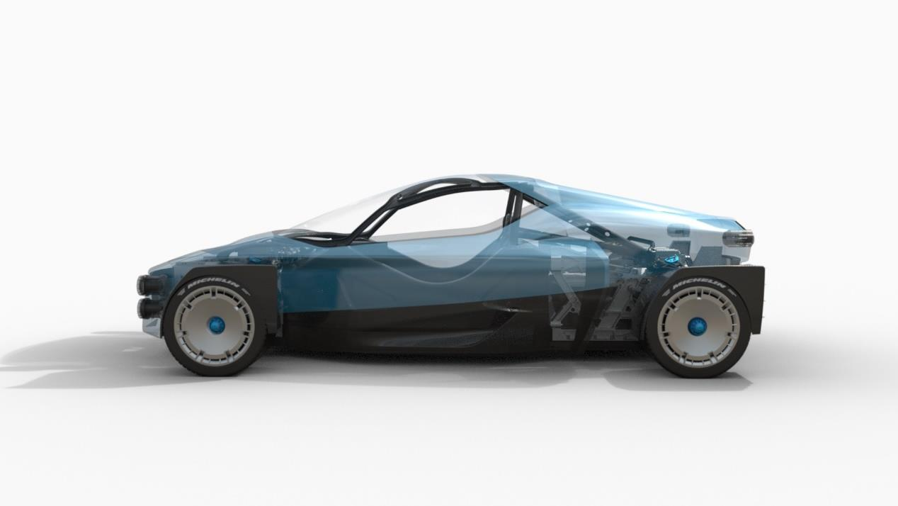 XING Miss R Off-Road Electric Supercar images