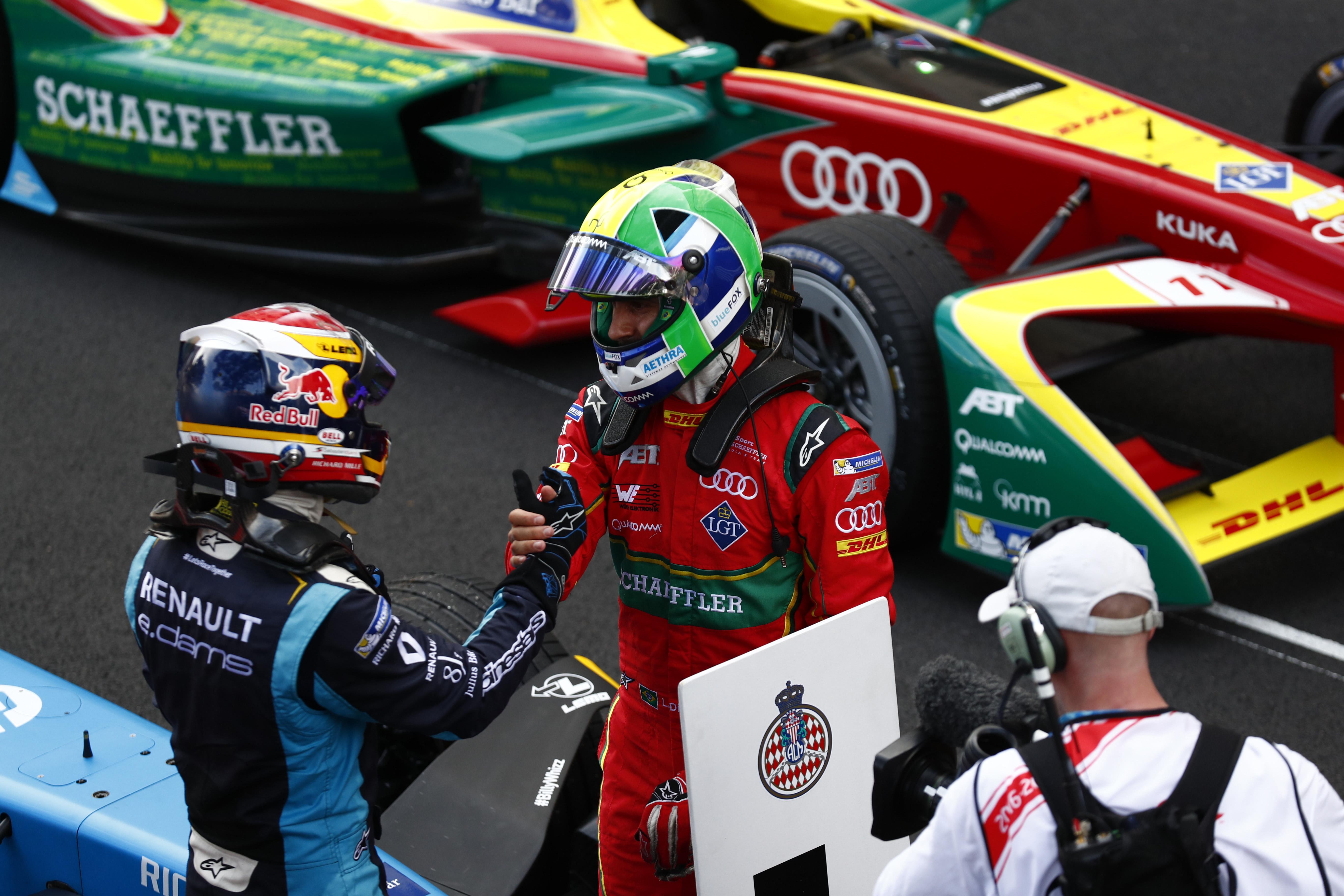 Monaco ePrix: Buemi Cruises to Confident Victory