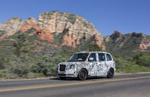 The London Taxi Company TX5 Extreme Climate Testing in Arizona US