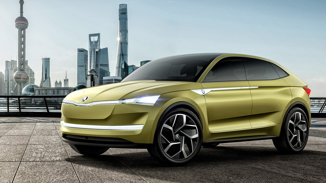 Skoda Vision E Meets The Jetson's
