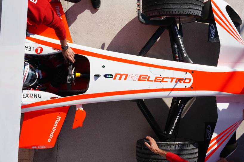 Mahindra's M4Electro debuts at Goodwood Festival of Speed