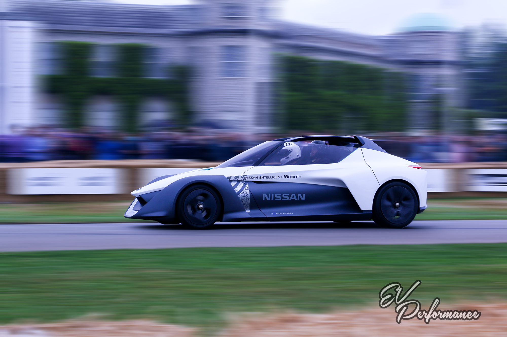 Nissan Bladeglider Goodwood Festival of Speed hill climb
