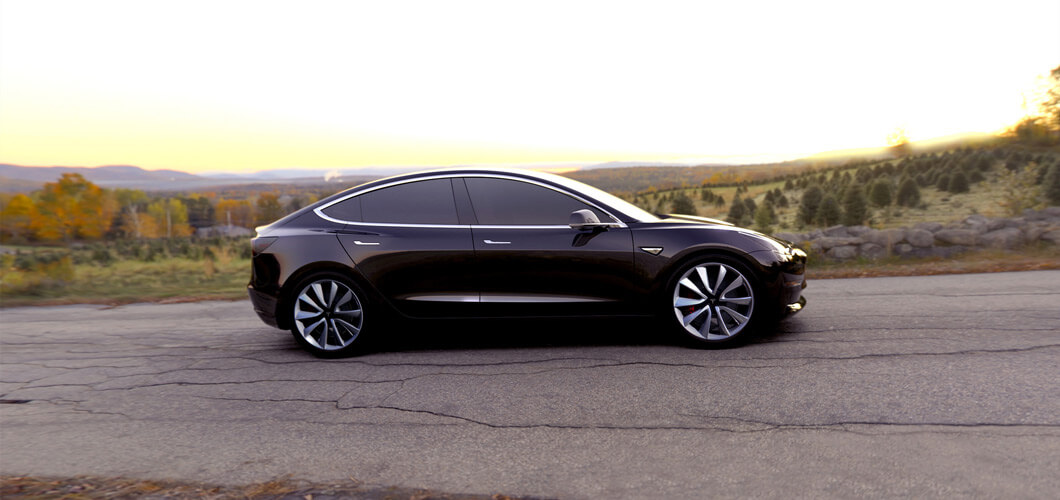 Production of the Tesla Model 3 to start this Friday