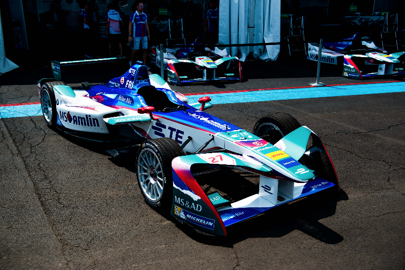 MS Amlin unveils new livery for MS Amlin Andretti