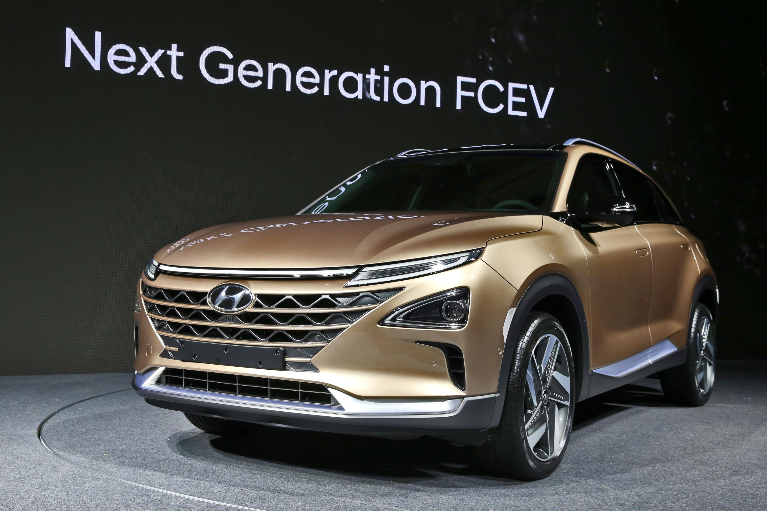 Hyundai's new and stylish fuel cell SUV