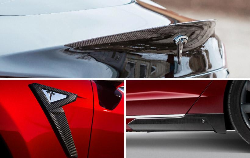 Voltes Tesla Carbon Styling Pack