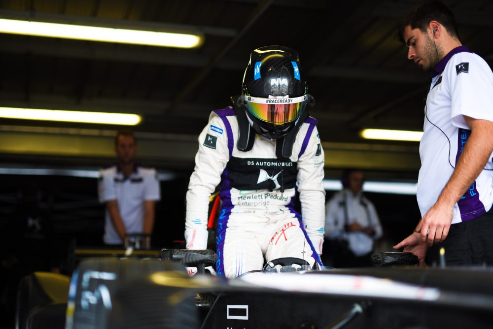 Jose Maria Lopez | DS Virgin Racing | Formula E | Spacesuit Media