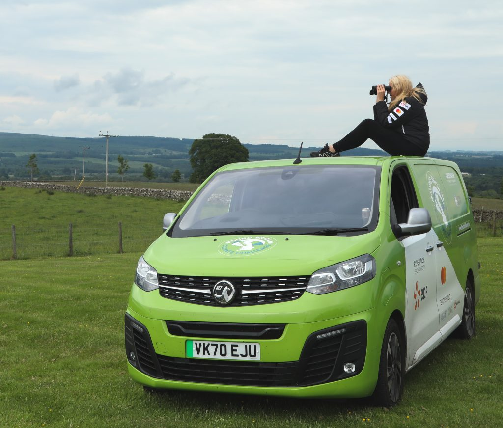 Vauxhall Support Electric World Record