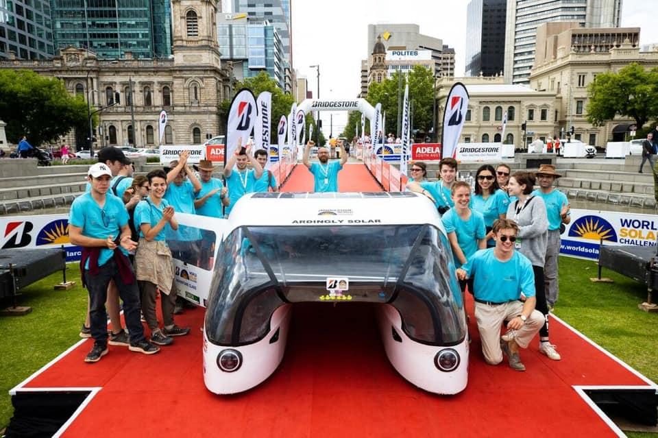 Ardingly Ifield's student lead solar car team